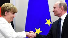 Kremlin says Merkel, Putin to discuss Middle East crisis in Moscow