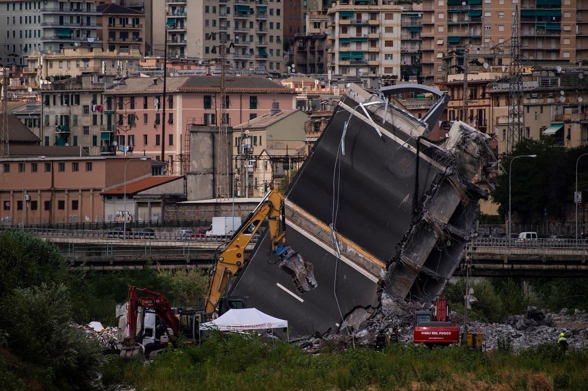 italy Genoa (AFP)