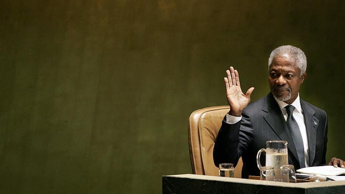 کوفی عنان دبیر کل سابق سازمان ملل متحد در سن 80 سالگی درگذشت