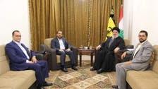 حوثیوں کی نصر اللہ سے ملاقات حزب اللہ کے ہاتھوں ہمارے امن کے بگاڑ کی دلیل ہے : یمن