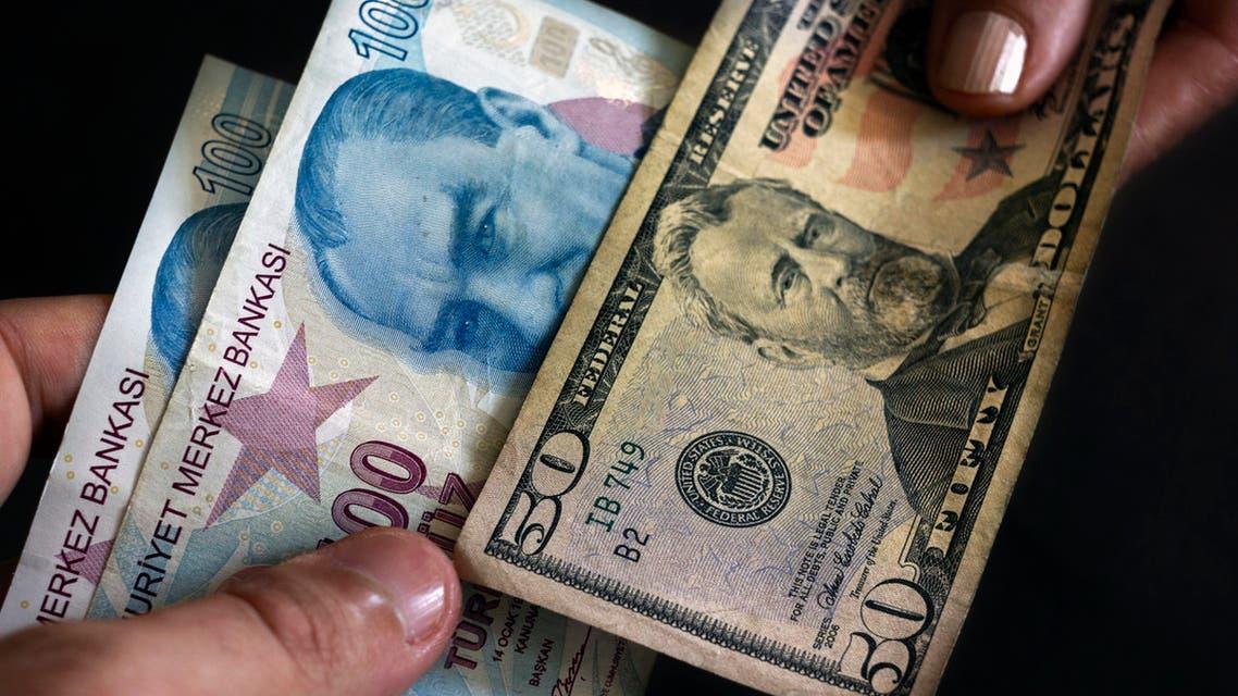 الليرة التركية دولار