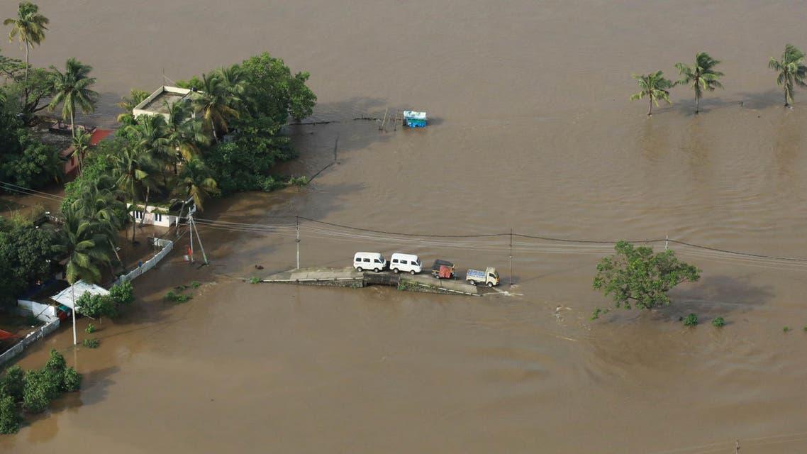 الهند فيضانات كيرالا