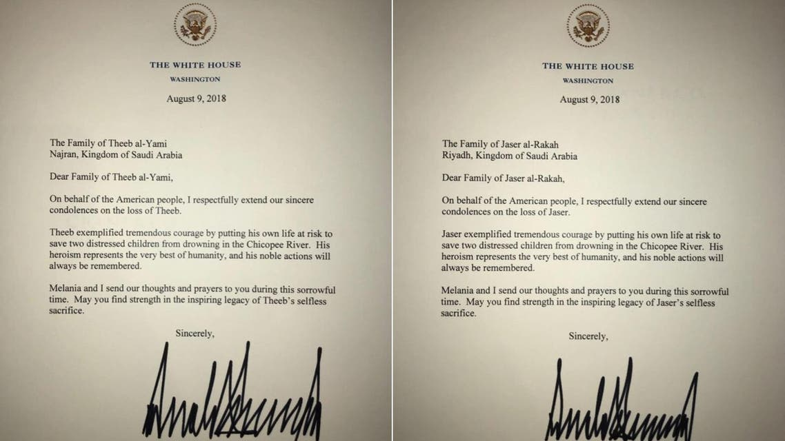 trump letter saudi students