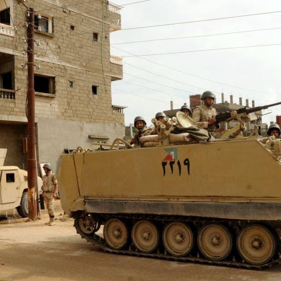 مصر: إحباط هجوم إرهابي بسيناء ومقتل 10 مسلحين