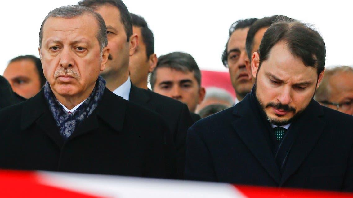 اردوغان وصهره
