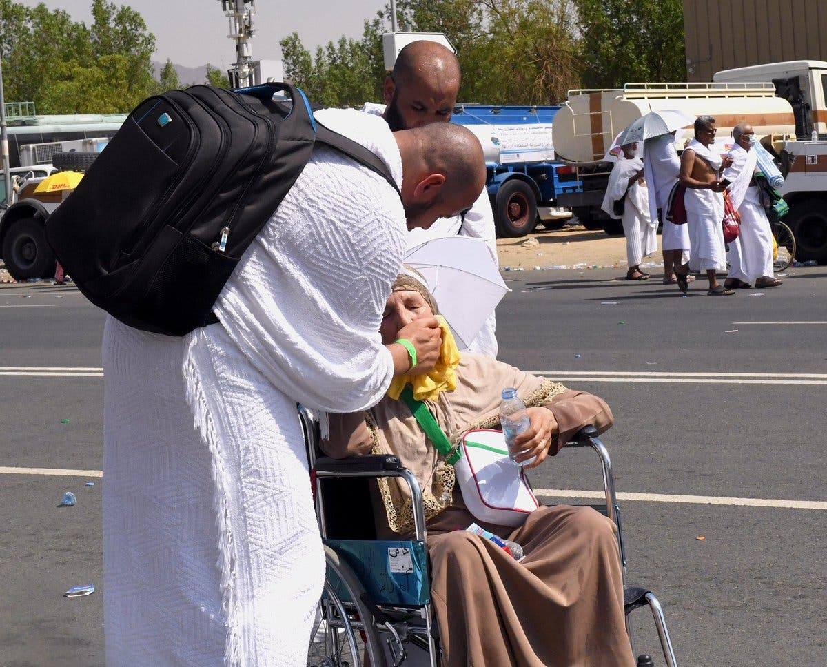 One of the best things one could do according to Islam is be kind and patient with parents. (SPA)
