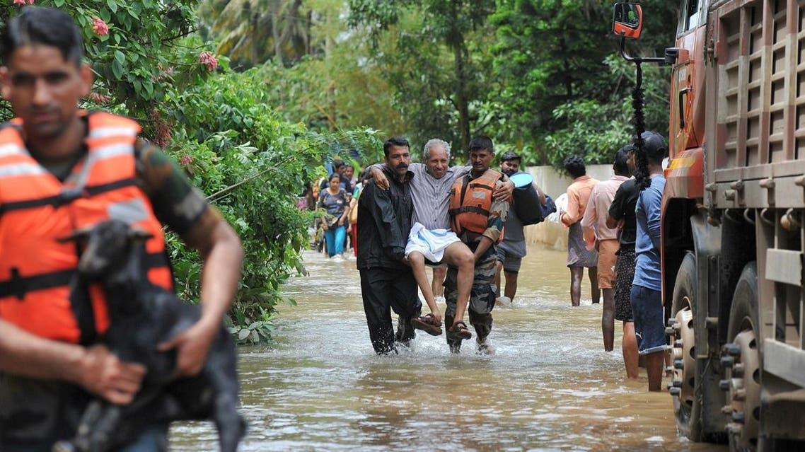 India Kerala monsoon (AFP)