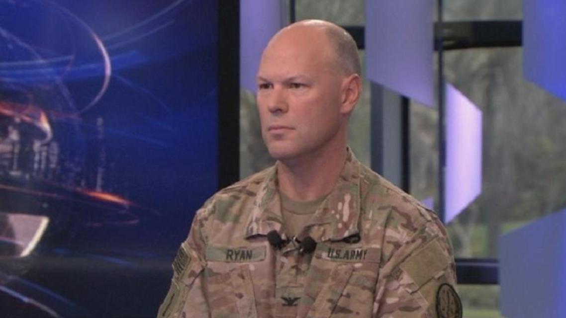 US-led anti ISIS coalition's spokesman, Col. Sean Ryan (Supplied)