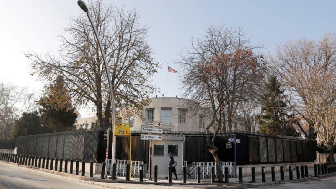 السفارة الأميركية في أنقرة