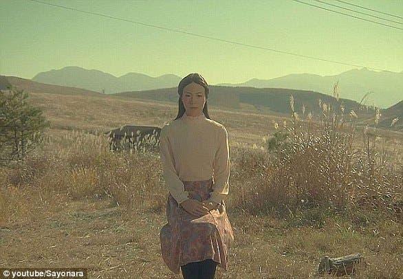 الروبوت Geminoid Fالذي لعب دور البطولة النسائية في الفيلم الياباني Sayonara
