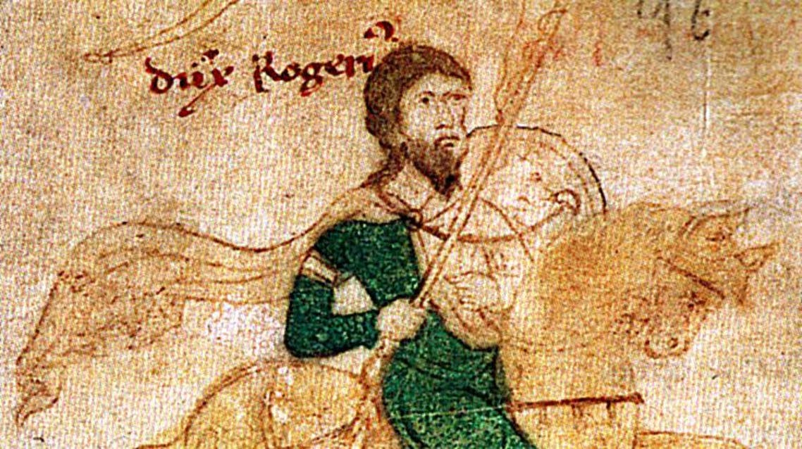 Roger II of Sicily (Wikimedia commons)