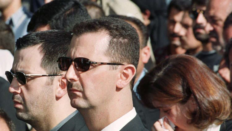 بشار الأسد وشقيقه اللواء ماهر