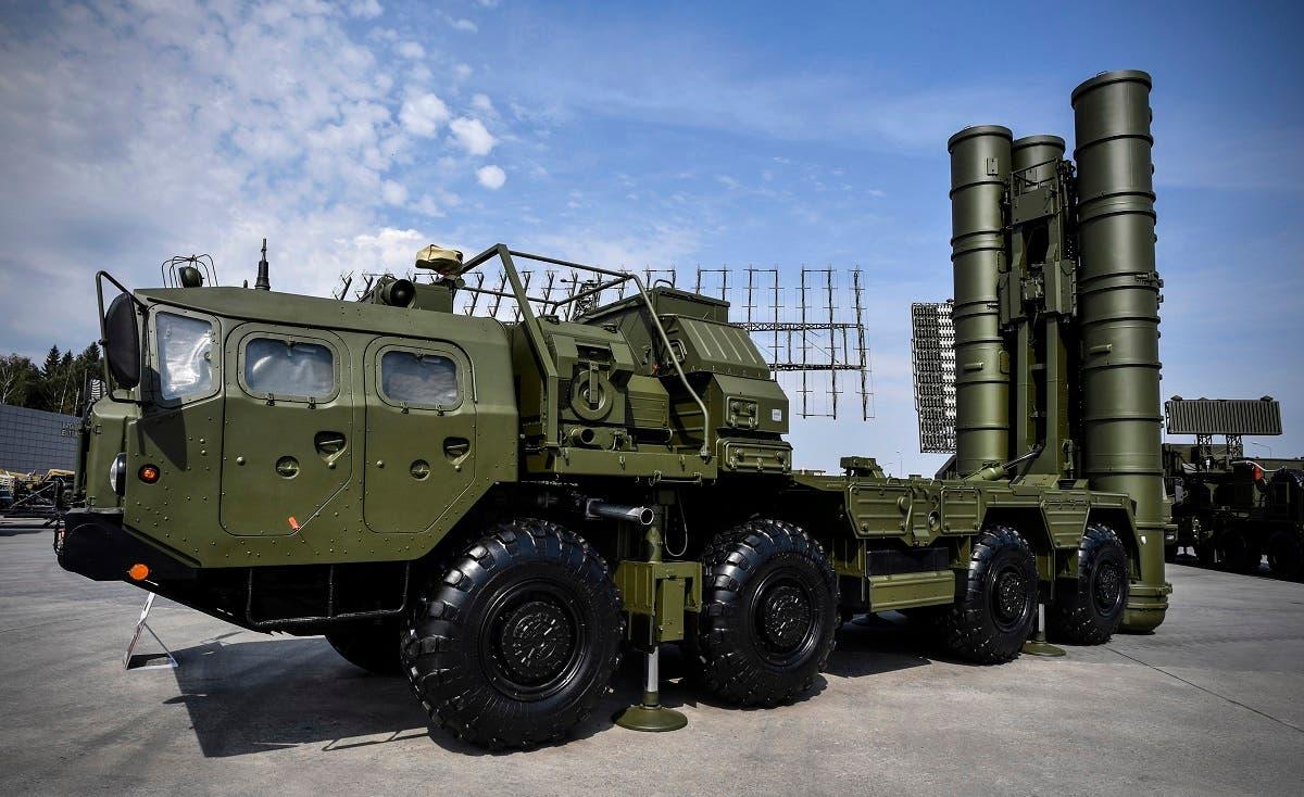 منظومة صواريخ أس 400(فرانس برس)