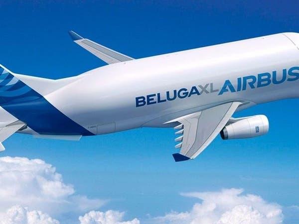 بالفيديو.. أكبر طائرة شحن في العالم تحلق في سماء فرنسا