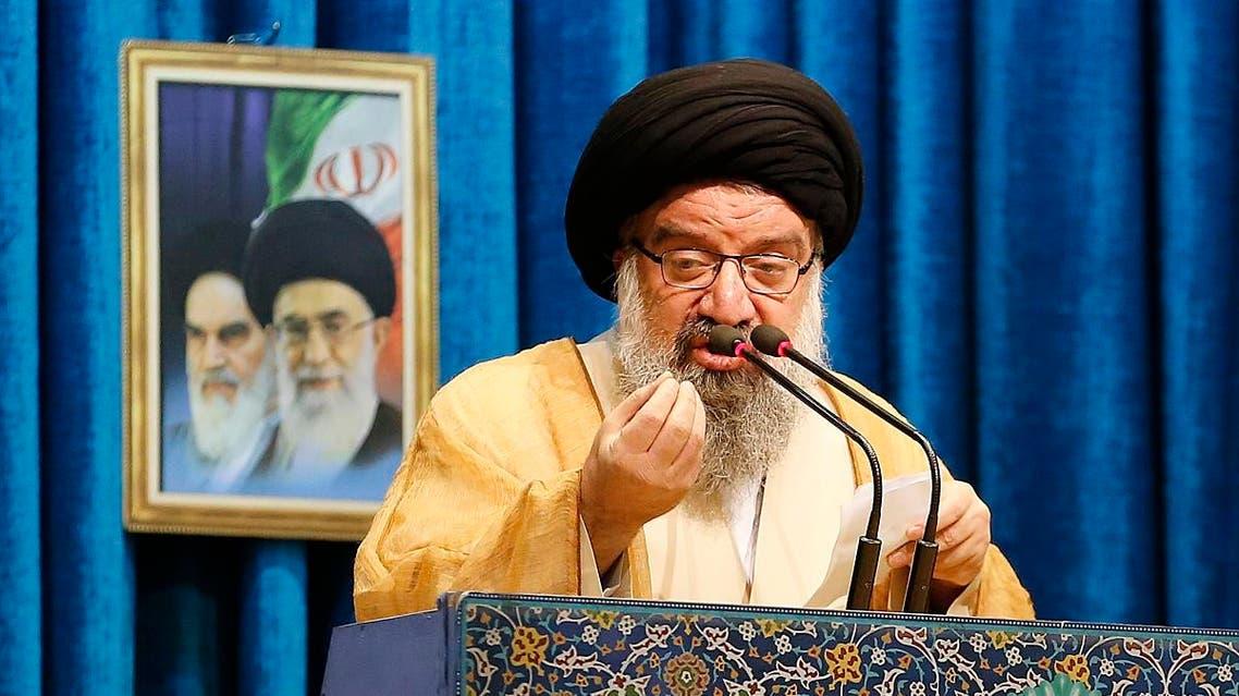 Iran cleric Ahmad Khatami (AFP)