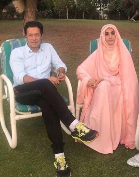 عمران خان وزوجته الثالثة