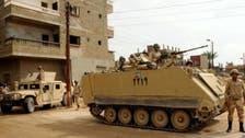 مصری فوج کی مختلف کارروائیوں میں 20 انتہا پسند ہلاک