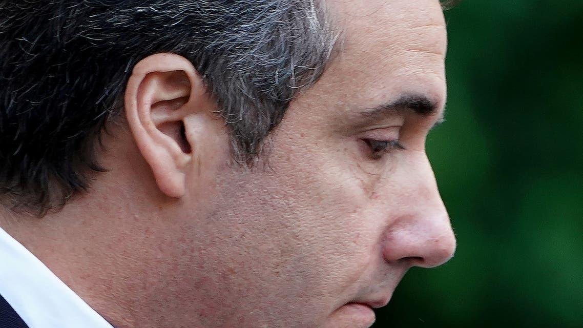 مايكل كوهين خارج محكمة في نيويورك الثلاثاء