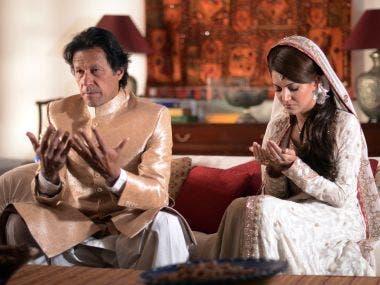 عمران خان وزوجته الثانية