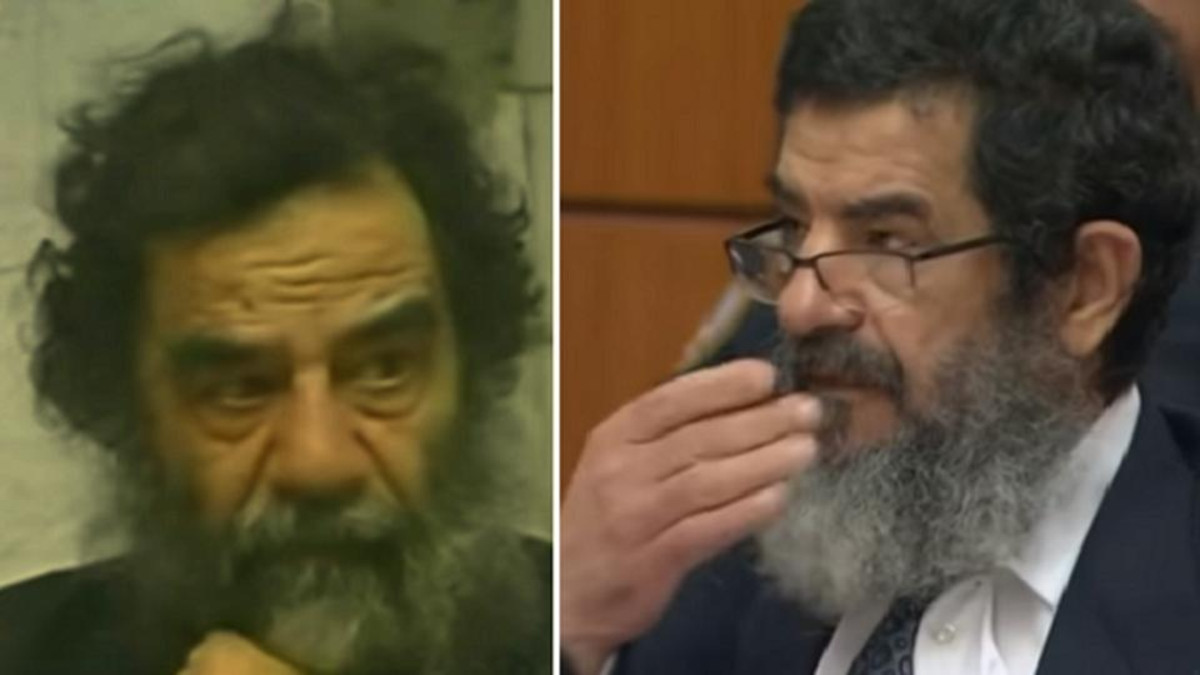 saddam hussein doppelganger sentenced to death (Supplied)