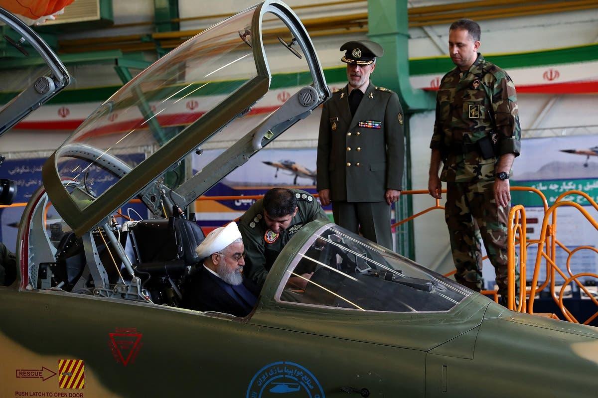 Iran fighter jet Kowsar 4 (AFP)
