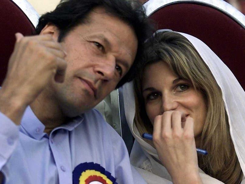 عمران خان وزوجته الأولى