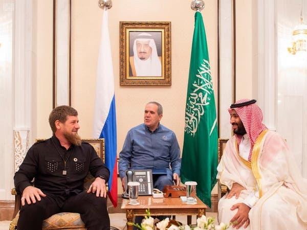 محمد بن سلمان يبحث مع رئيس الشيشان العلاقات الثنائية