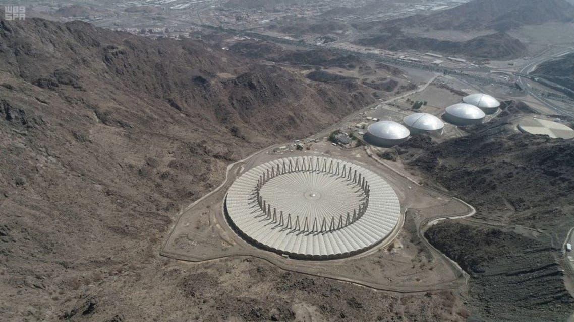 893 ألف متر مكعب من المياه لخدمة لحجاج