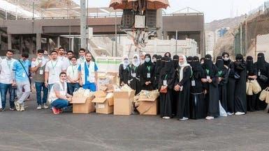 صور..  26 ألف هدية قدمتها أمانة مكة المكرمة للحجاج
