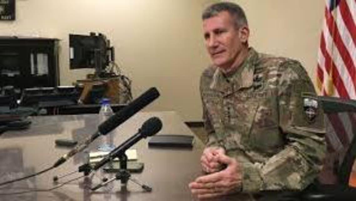 جنرال جان نیکلسن فرمانده عمومی نیروهای ناتو مستقر در افغانستان