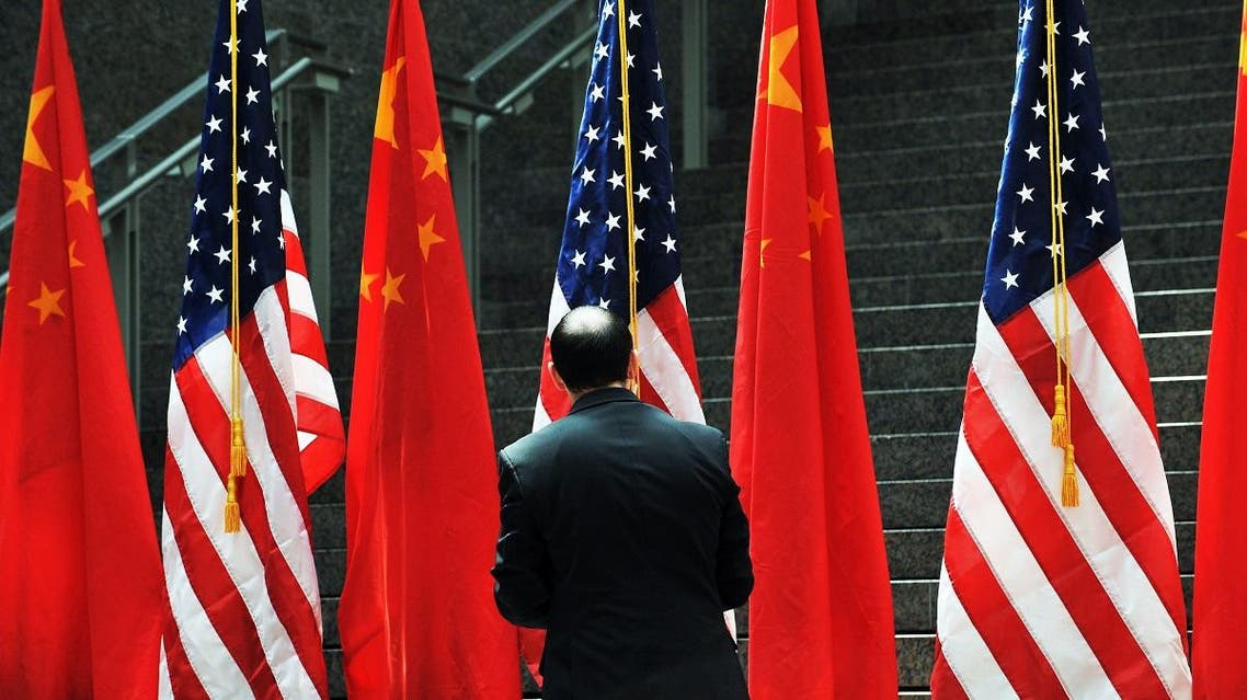china and USA flags (AFP)