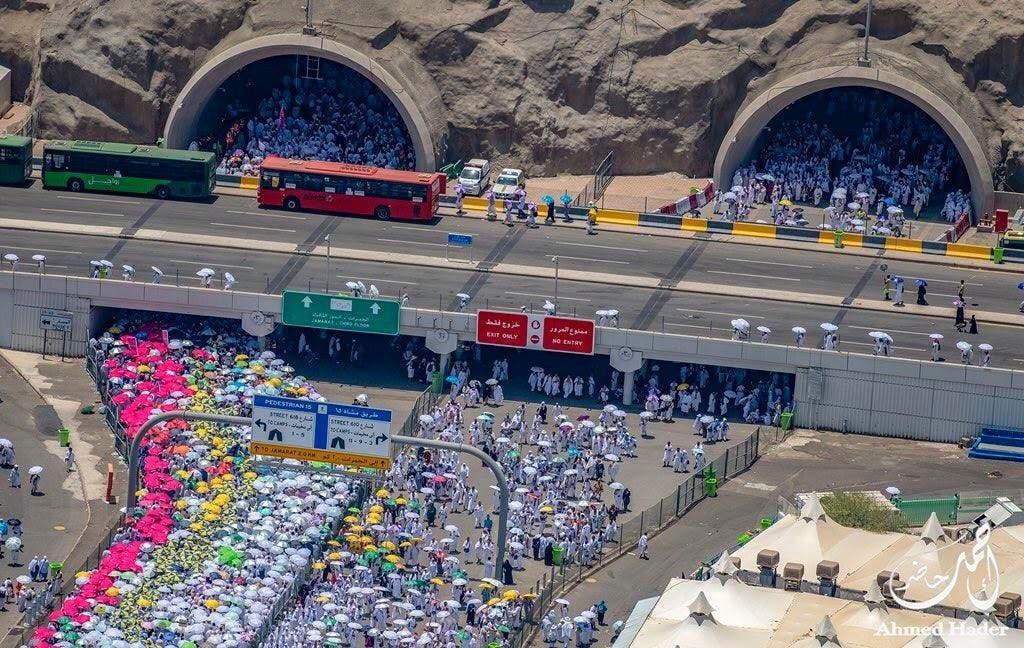 Saudi aerial photographer's snaps show scale and magnitude of Hajj pilgrimage