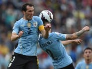 """غودين يوضح موقف لاعبي الأوروجواي بعد تدخل """"فيفا"""""""