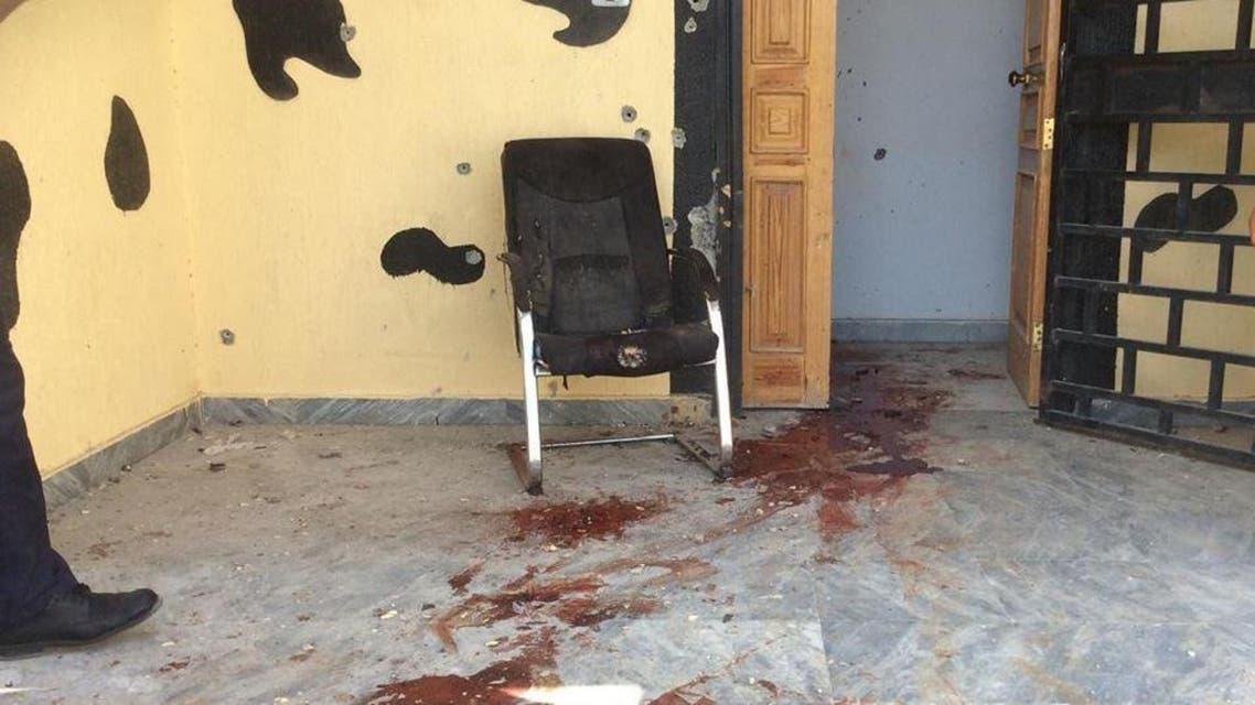 البوابة الأمنية في ليبيا