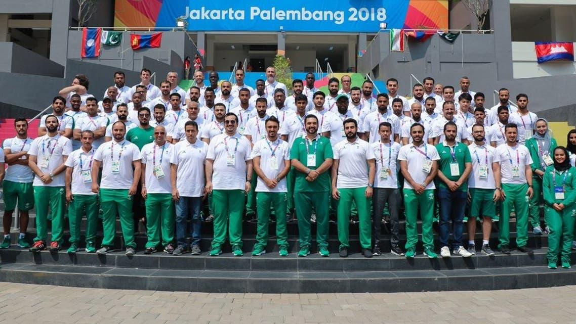 بعثة الأولمبياد السعودي
