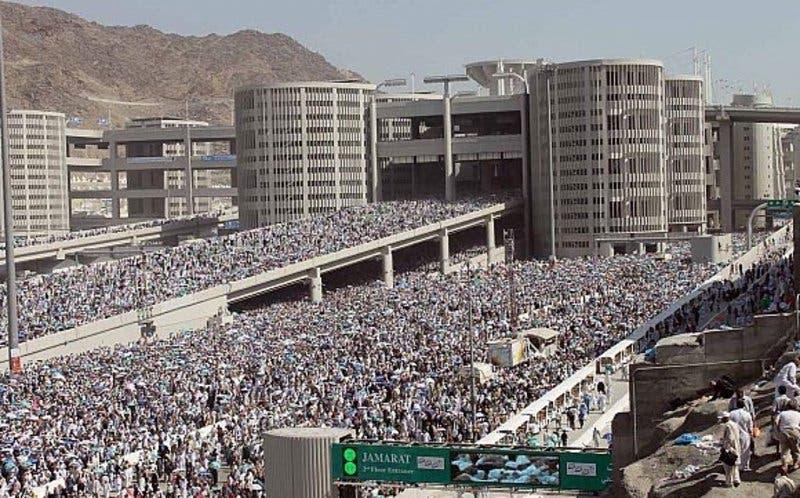 Saudi Jamraat Bridge 13 (Supplied)