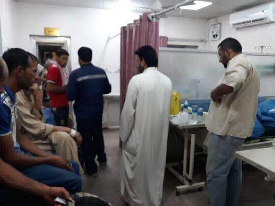 """Call for the declaration of Basra """"affected"""" .. Change the color of water and overcrowded hospitals with poisoning 753dfaf2-2e33-494c-895a-d7b20e332fed"""