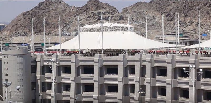 Saudi Jamraat Bridge 9 (Supplied)