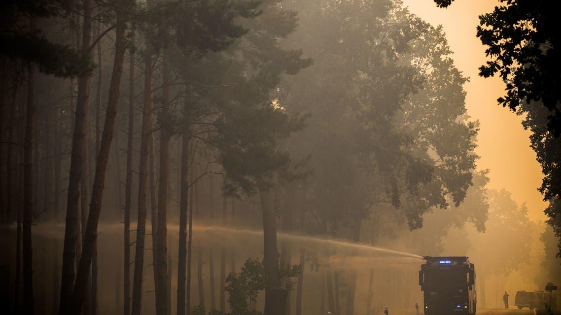حرائق غابات تهدد قرى ألمانية وتجبر المئات على المغادرة 2
