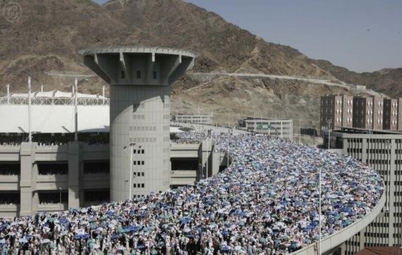 Saudi Jamraat Bridge 12 (Supplied)