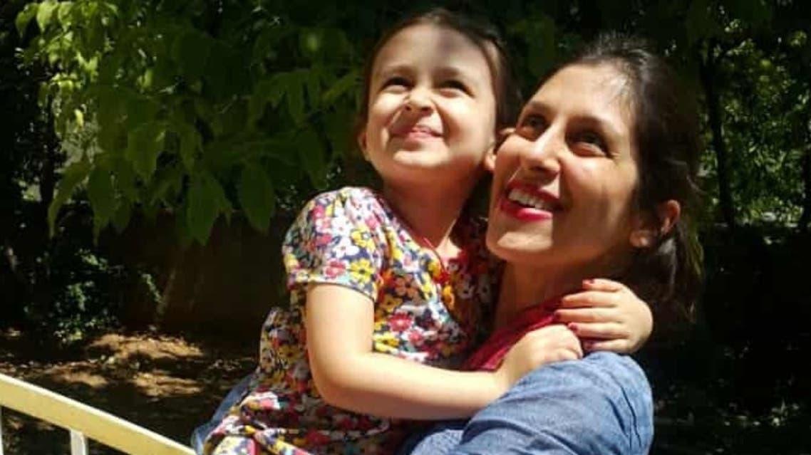 زاغري تجتمتع بابنتها بعد عامين من السجن