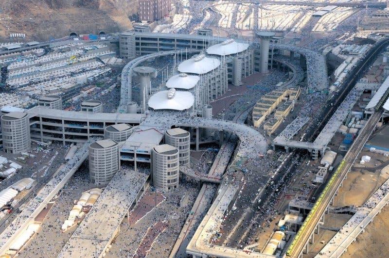 Saudi Jamraat Bridge 17 (Supplied)