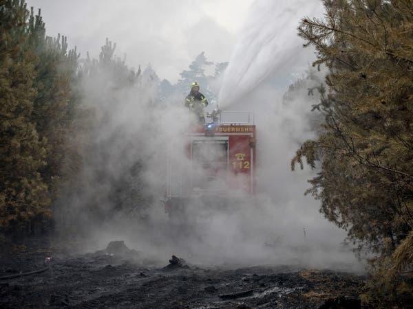 حرائق غابات تهدد قرى ألمانية وتجبر المئات على المغادرة
