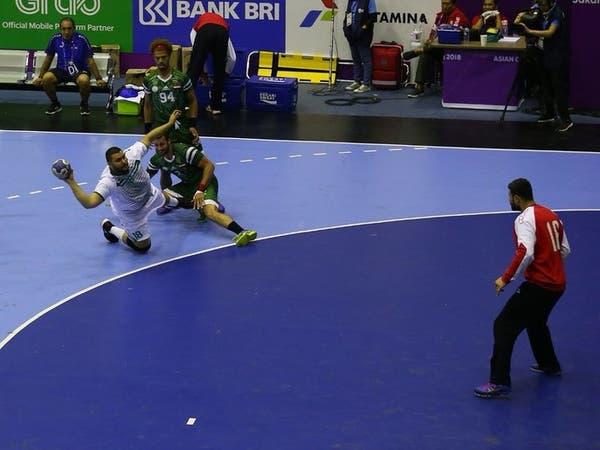 أخضر اليد يتعادل مع العراق في الألعاب الآسيوية