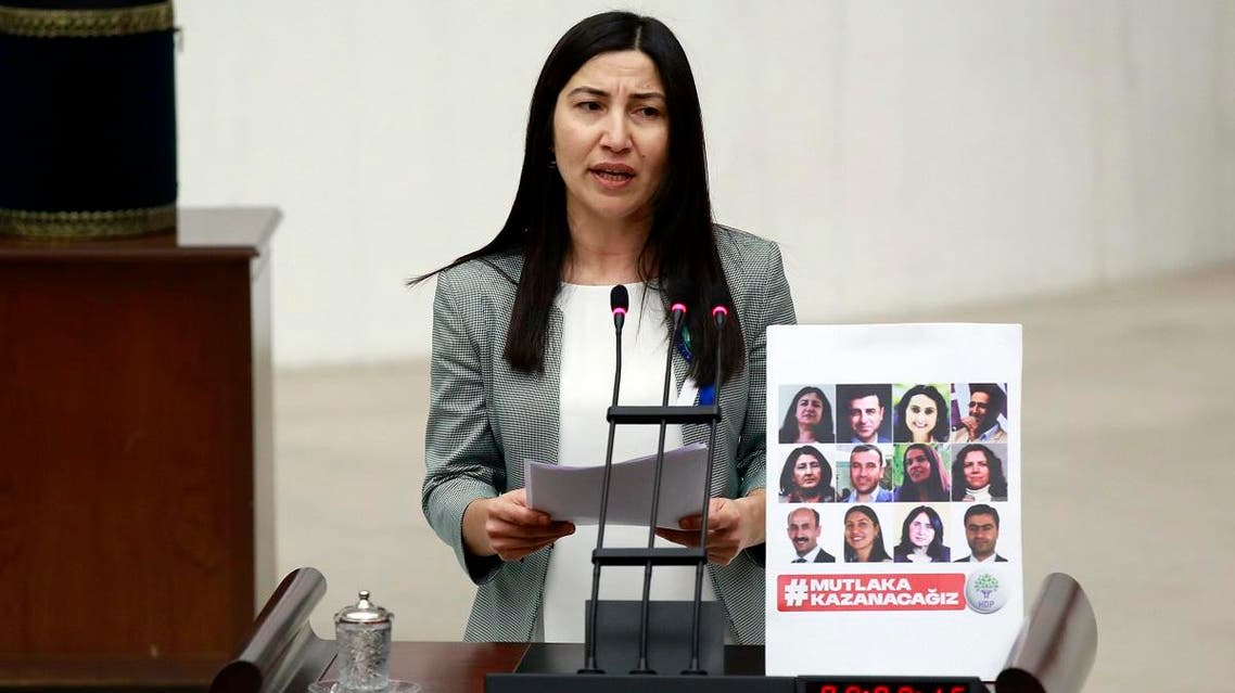 Ex-Kurdish party MP Leyla Birlik (AP)