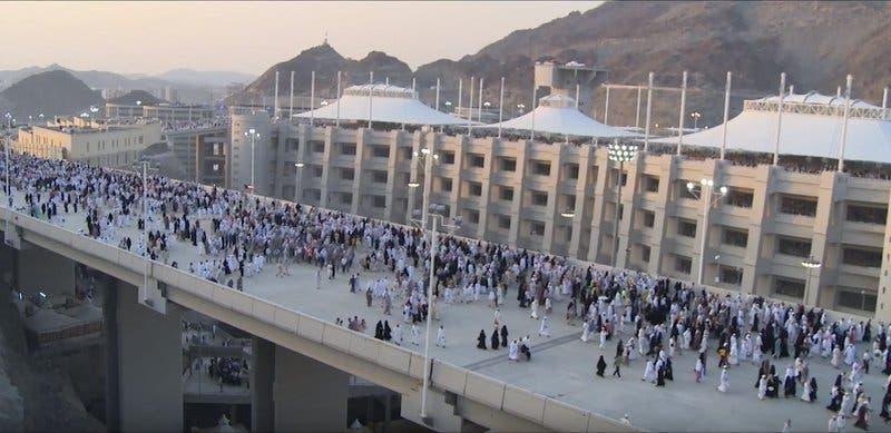 Saudi Jamraat Bridge 15 (Supplied)