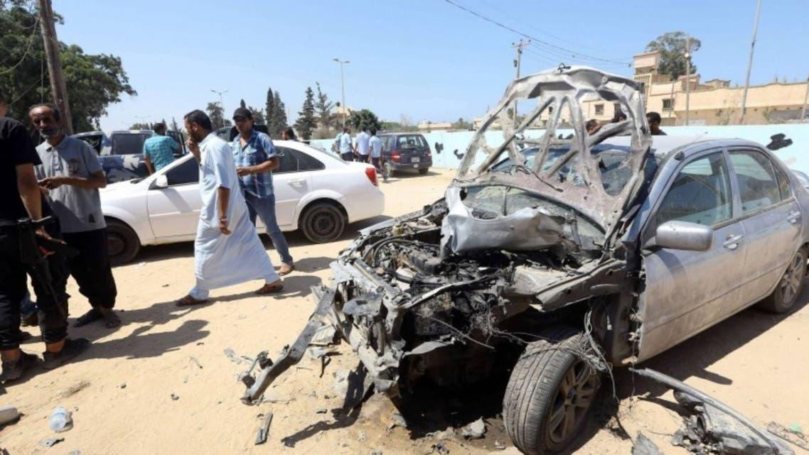 هجوم سابق لداعش في ليبيا