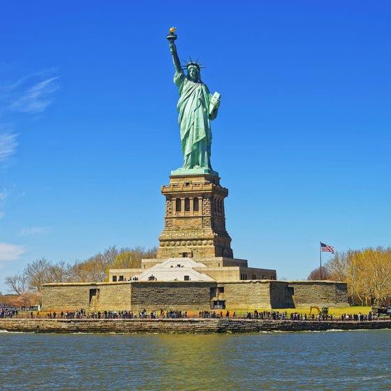 صورة لتمثال الحرية