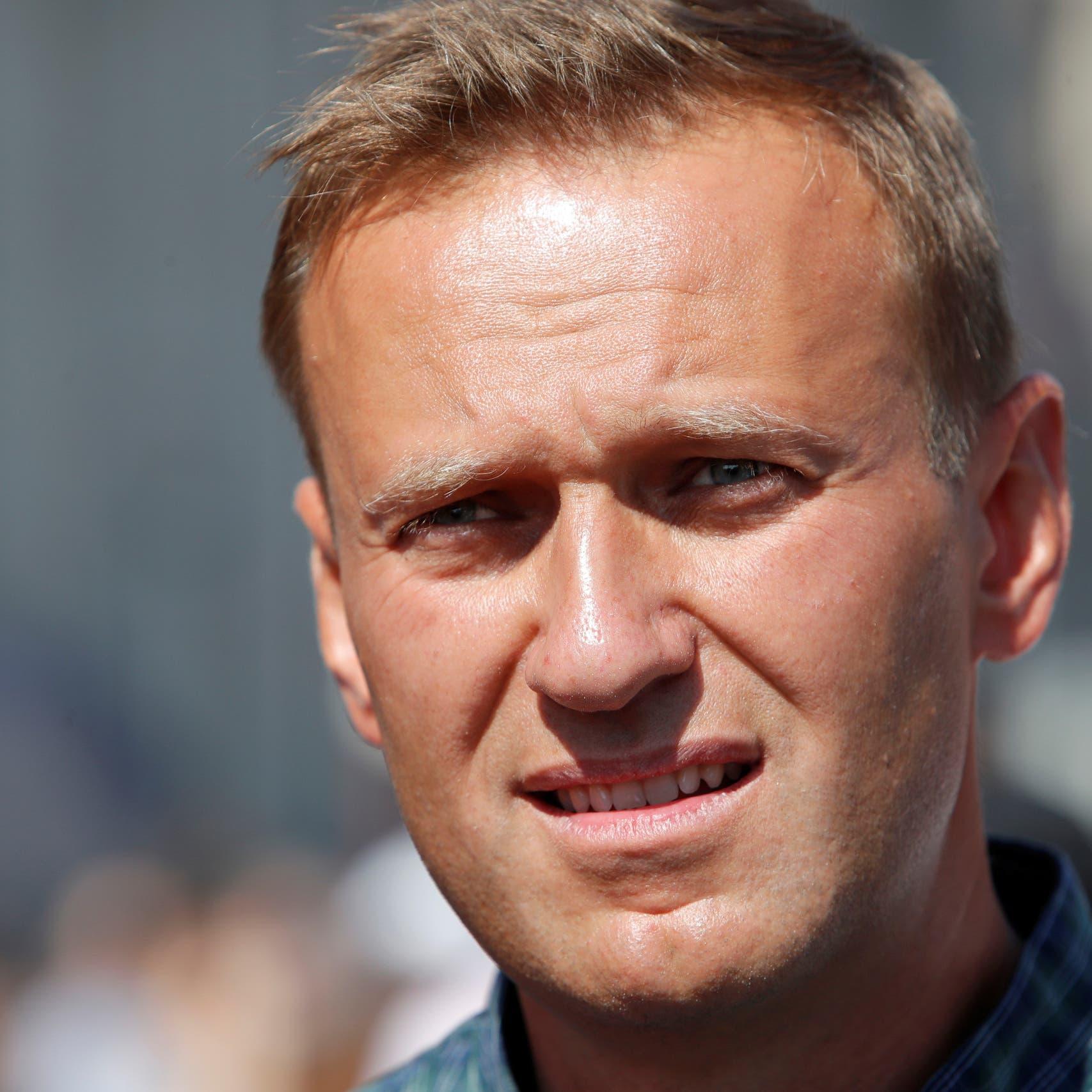 الشرطة الروسية ستطلب التحقيق مع المعارض نافالني في ألمانيا
