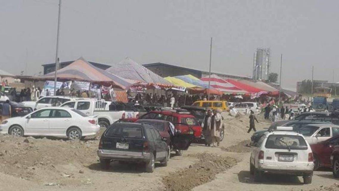 خیمههای اعتراض از نزدیک ساختمان کمیسیون انتخابات افغانستان برداشته شد